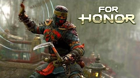 For Honor - The Shinobi Samurai Gameplay Trailer