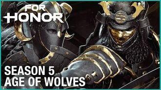 For Honor- Season 5 - Age of Wolves Teaser - Trailer - Ubisoft -NA-