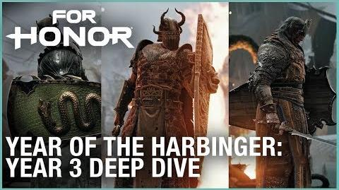 For Honor- Year of the Harbinger – Year 3 Deep Dive - Ubisoft -NA-