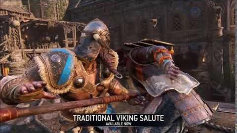 Traditional Viking Salute