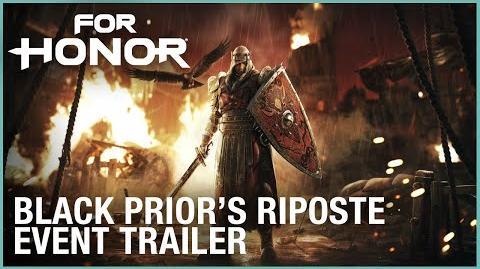 For Honor- Black Prior's Riposte Event - Trailer - Ubisoft -NA-