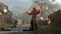 Volcanic Destruction Blast