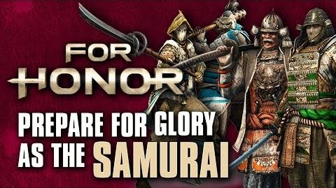 For Honor- Prepare For Glory As The Samurai