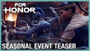 For Honor Seasonal Event Teaser Ubisoft NA