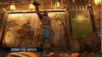 Down The Hatch! (Samurai)