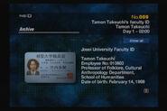 009 - Tamon Takeuchi's Faculty ID