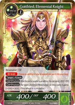 Gottfried, Elemental Knight