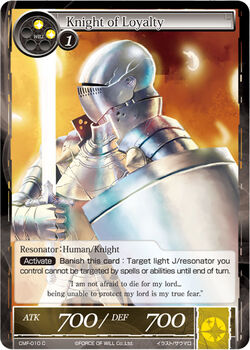 Knight of Loyalty