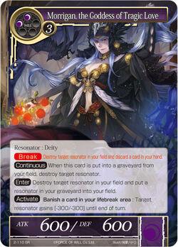 Morrigan, the Goddess of Tragic Love