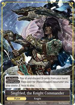 Siegfried, the Knight Commander