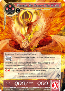 Phoenix, the Flame of the World