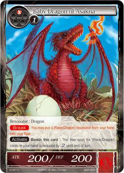 Baby Dragon of Asakna