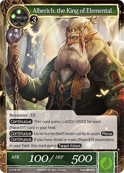 Alberich, the King of Elemental