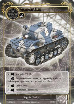 Class G's Tank