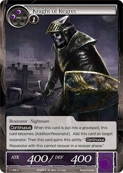 Knight of Regret-0