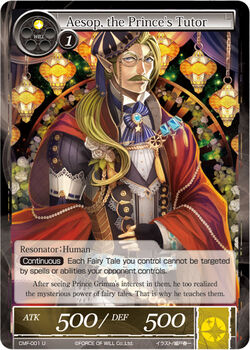 Aesop, the Prince's Tutor