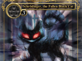 Schrödinger, the Fallen Black Cat