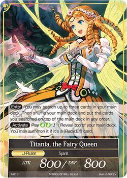 Titania, the Fairy Queen