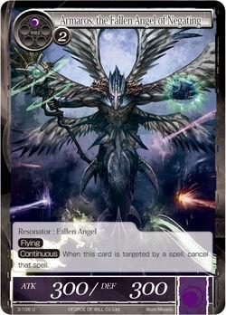 Armaros, the Fallen Angel of Negating