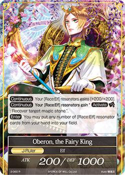Oberon, the Fairy King