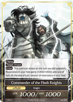 Commander of the Flash Knights (J)-0
