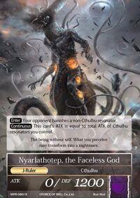 Nyarlathotep, the Faceless God