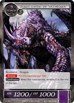 Dragon Zombie, the Necrodragon