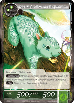 Ratatoskr, the Messenger of the Jewel Tree