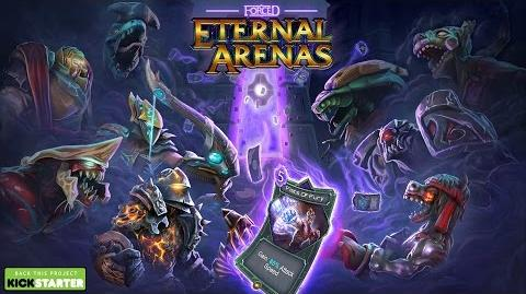 Forced Eternal Arenas on Kickstarter