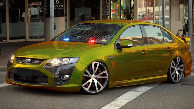 "File:FPV Ford Falcon F6-310 Typhoon ""Gold"".jpg"