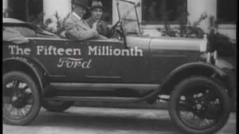 Ford Model T Historia