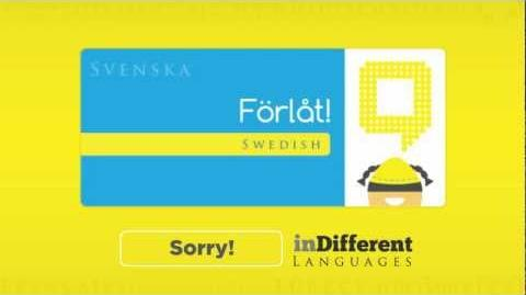 Sorry! in 30 Different Languages