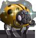 Shield Bug (Gold)