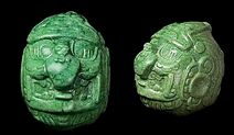 Mayan jade sculpture2