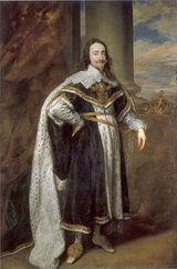 396px-King Charles I by Antoon van Dyck