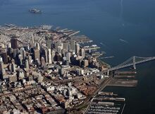 800px-Downtown San Francisco and Alcatraz Island