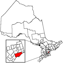 Toronto Location in Ontario d