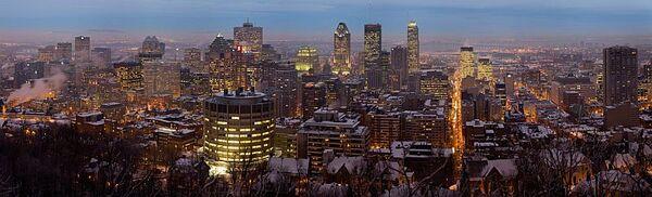 Tn Montreal Twilight Panorama 2006