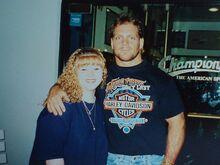 Lisa and Chris Benoit
