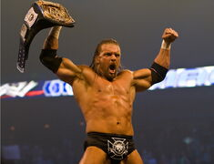 Triple H WWE Champion 2006