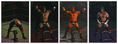 Triple H Entrance Sequence Melbourne 10.11.2007