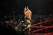 The Glamazon's ring entrance