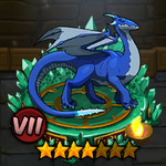 Blue Winter Draco
