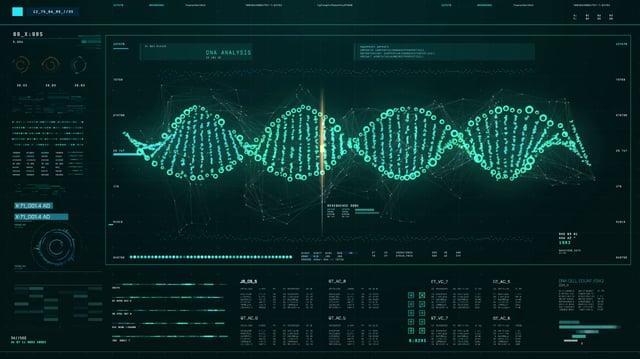 DNA FUI Screen Dark