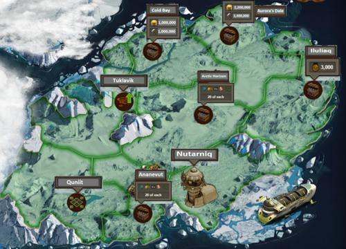 Karte Arktische Zukunft Phase 1