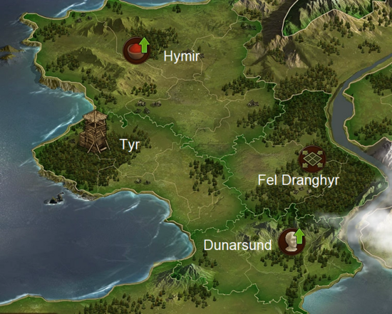 Bronze Age Map