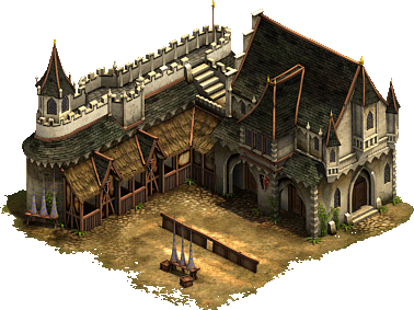 Military Buildings Iron Age Forge Of Empires
