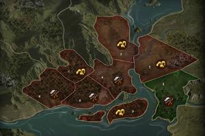 Karte Rio Roxo (Ausschnitt)