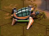 Schild-Geschütz
