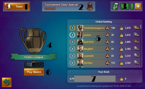 Tournament 1